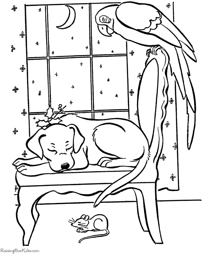 670x820 Sleeping Puppy Coloring Pages Sleeping Puppies