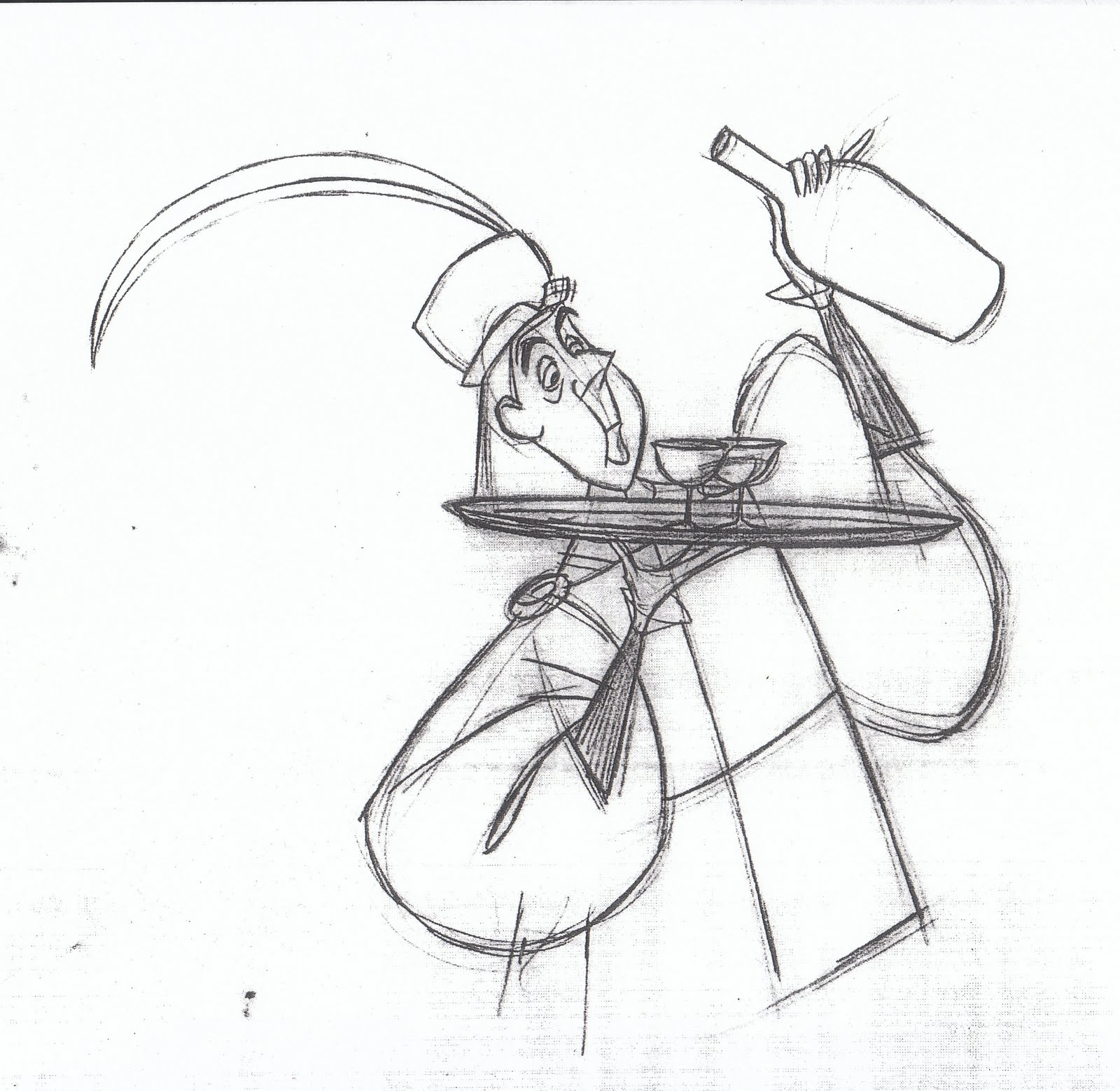 1600x1558 Drawing By Milt Kahl Milt Kahl Animation