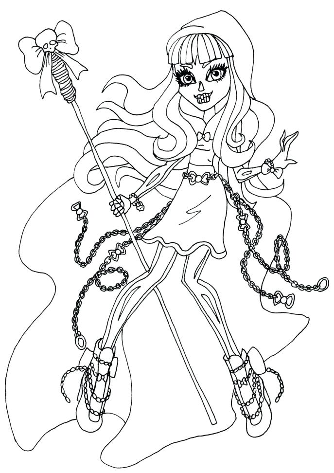 687x972 Coloring Monster High Games Medium Size Of High Online For Girls