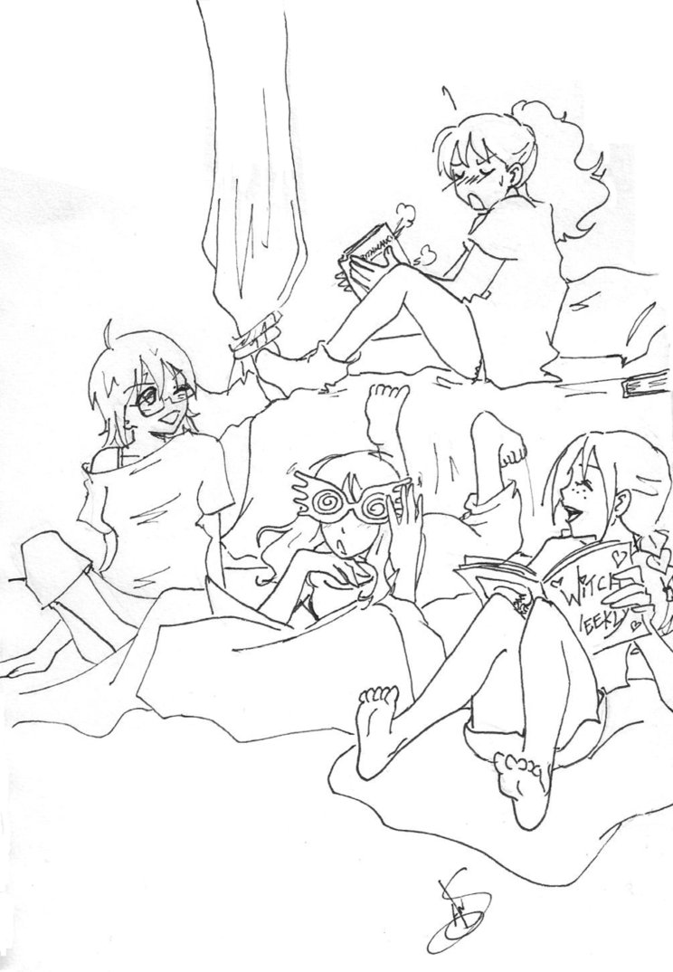 744x1074 Gwl Sleepover By Divine Nataku