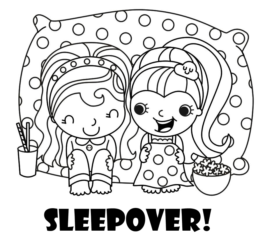 934x855 Invitations For Sleepover Party Fun On A Rainy Day