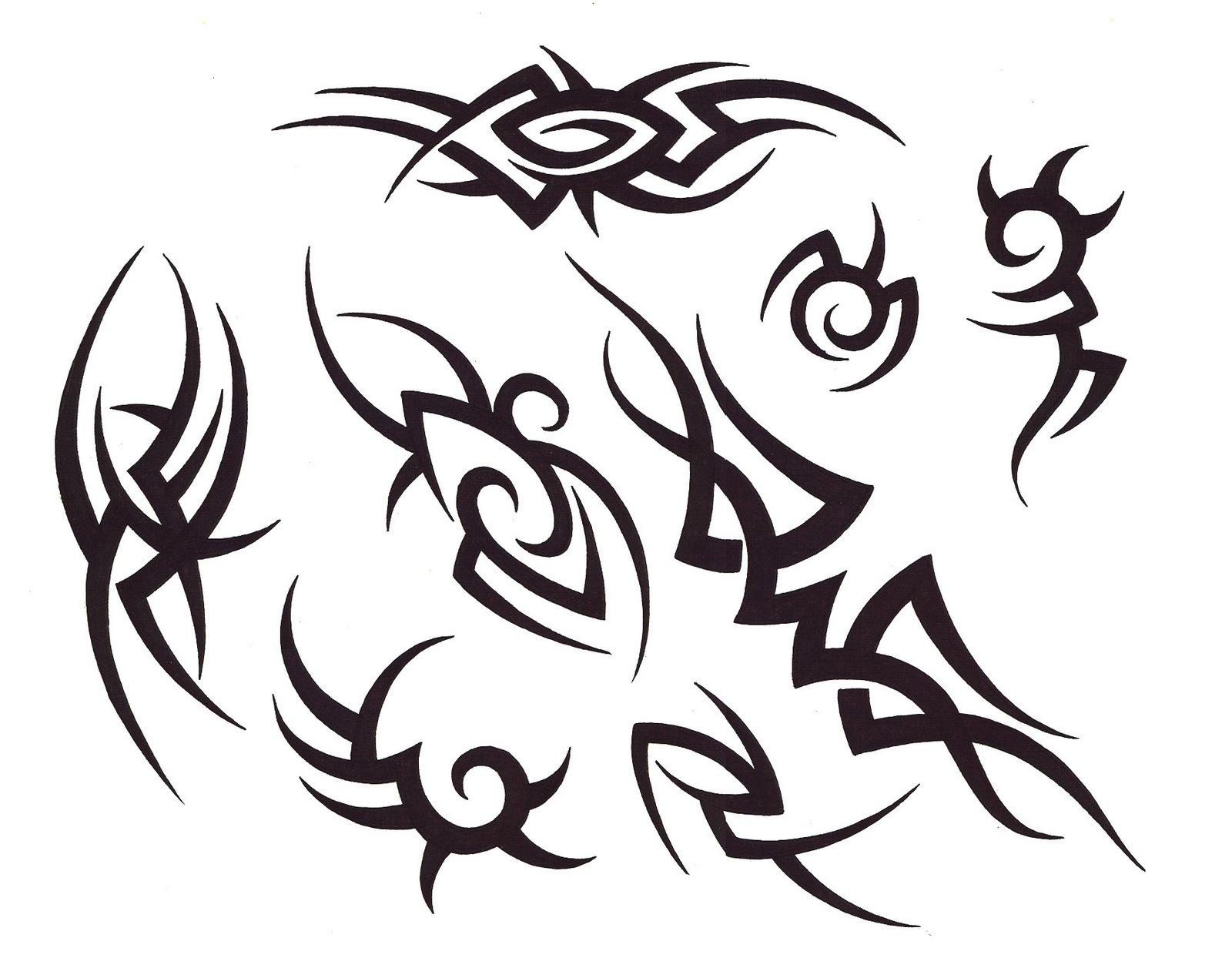 1600x1257 Free Tribal Tattoo Designs