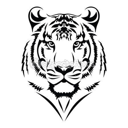 450x450 Amazing Tiger Tribal Tattoo Designs 79 On Sleeve Tattoo Designs