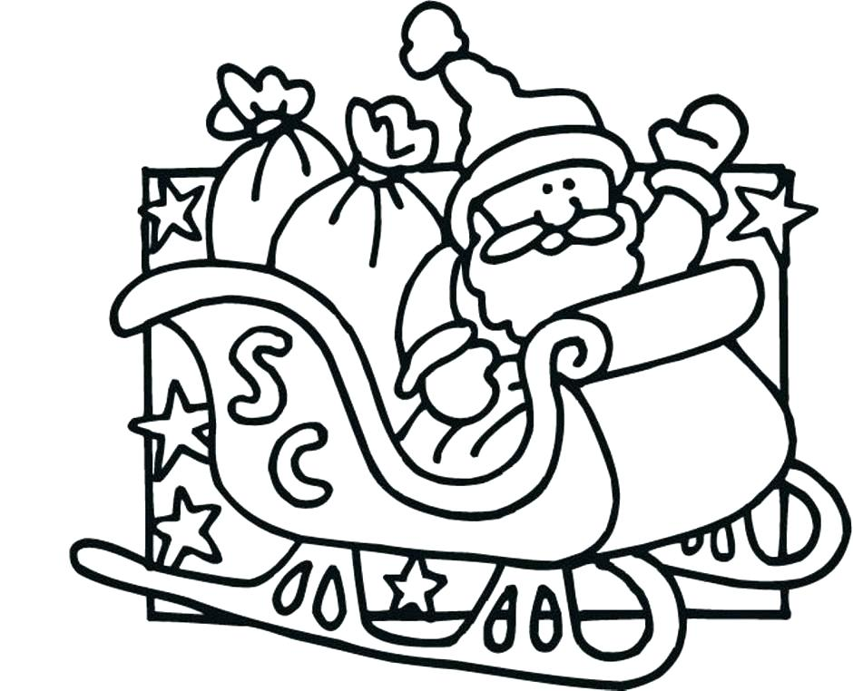 Sleigh Drawing at GetDrawings.com | Free for personal use Sleigh ...