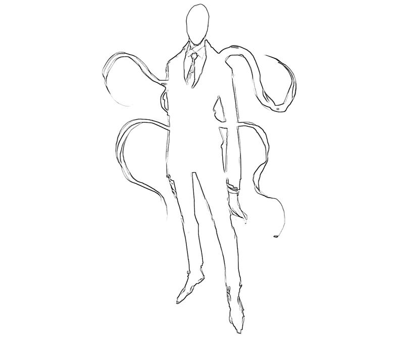 Slender Man Drawing at GetDrawings com | Free for personal