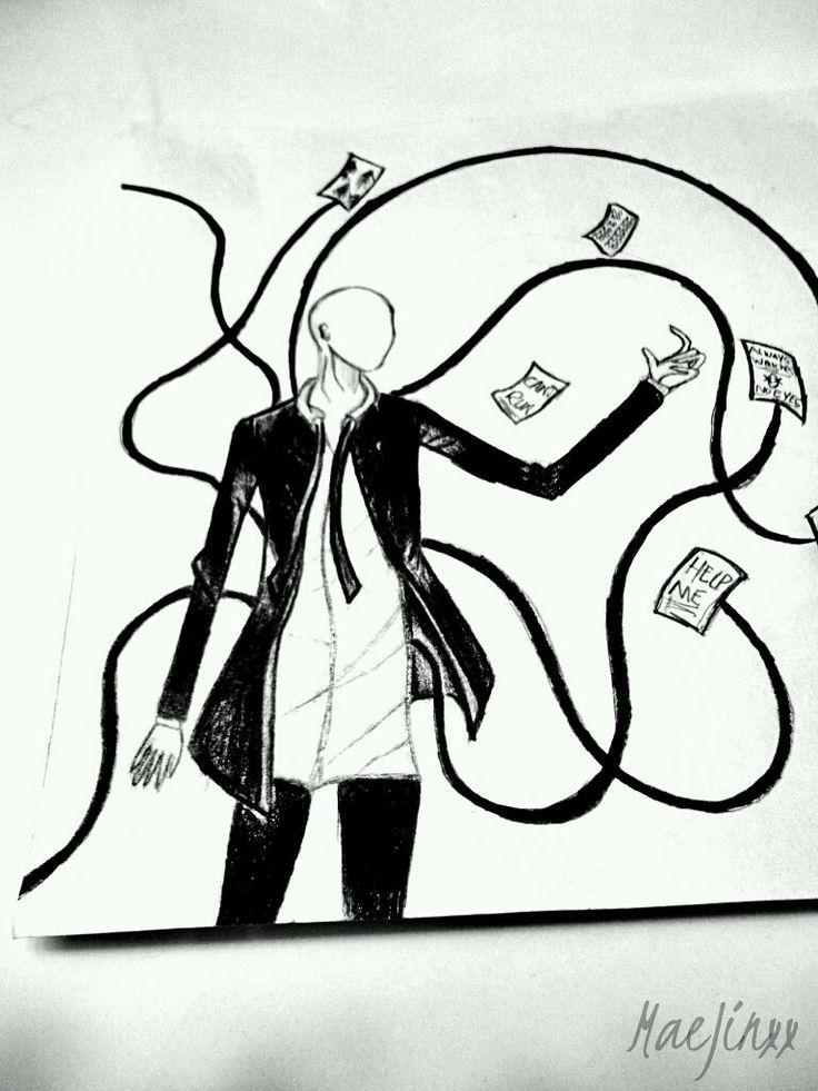 Slenderman Drawing