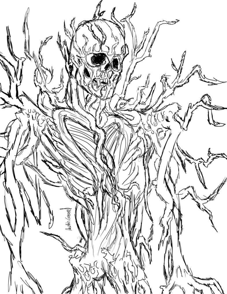 786x1017 My Take Slenderman [Sketch] By Thewebsurfer97