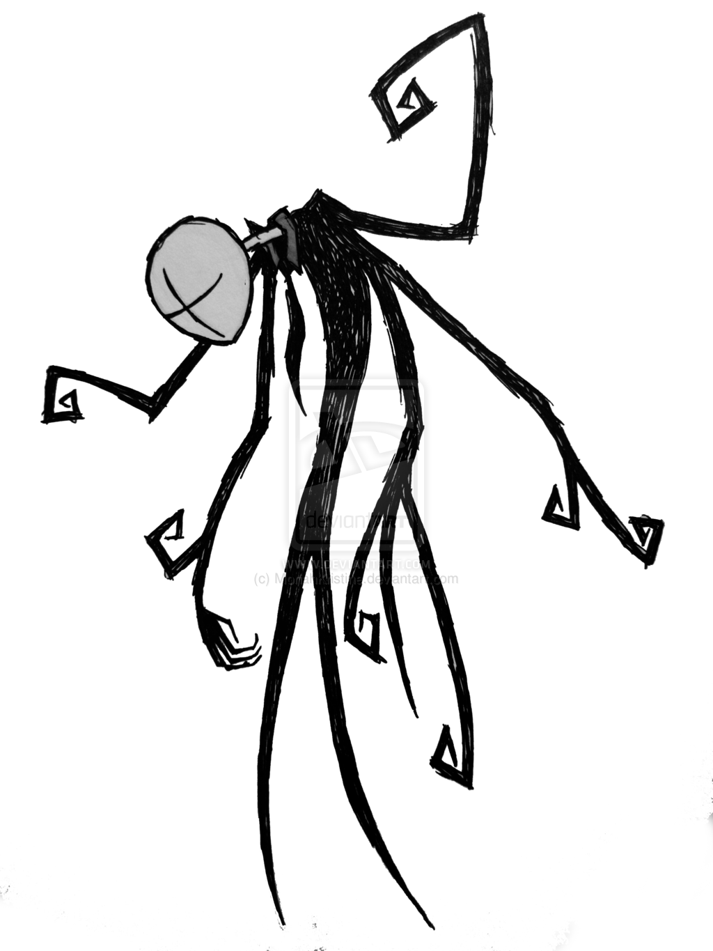 1024x1365 The Slender Man By ~moriahkristine Caslnotale