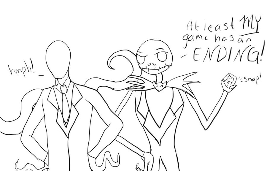 900x576 Jack And Slender Man Comic By Spiegeln