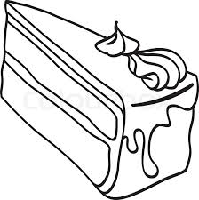 224x225 Image Result For Birthday Cake Slice Drawing 3d Inspo