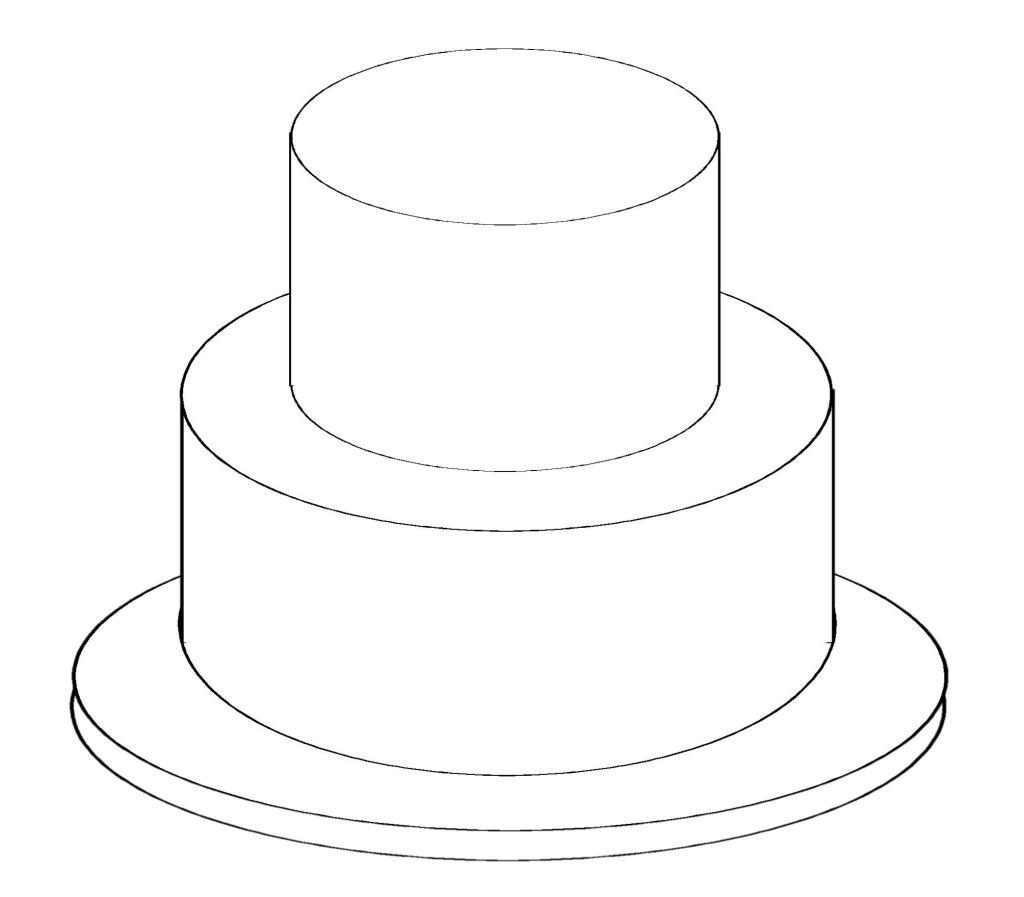1024x897 Slice Of Birthday Cake Drawing Birthday Cake Ideas