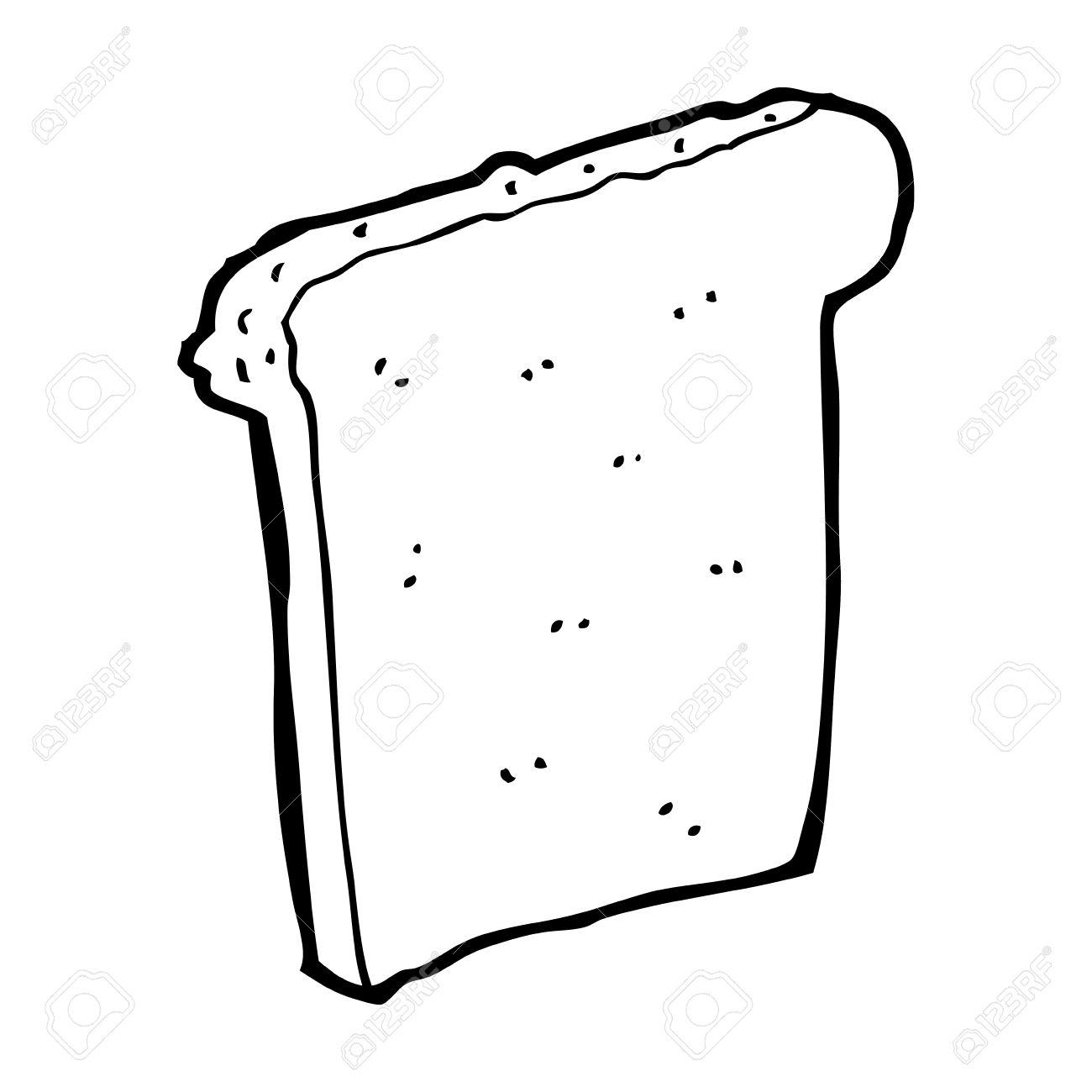 1300x1300 Cartoon Slice Of Bread Royalty Free Cliparts, Vectors, And Stock