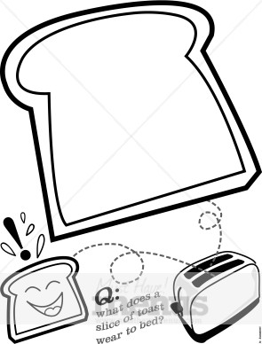 295x388 Cartoon Toasted Bread Holiday Clipart Archive