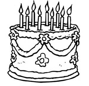 300x289 Cake Clipart Black And White No Candles