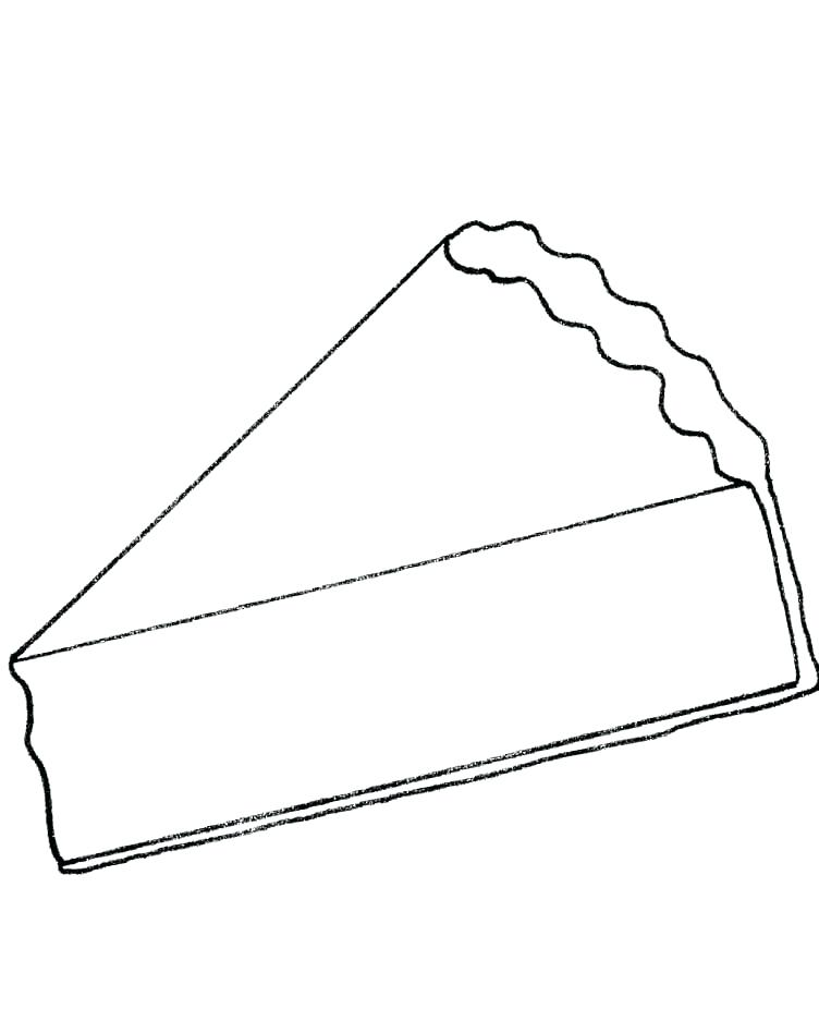 752x948 Cake Coloring Pages To Print And Birthday Cake Coloring Pages