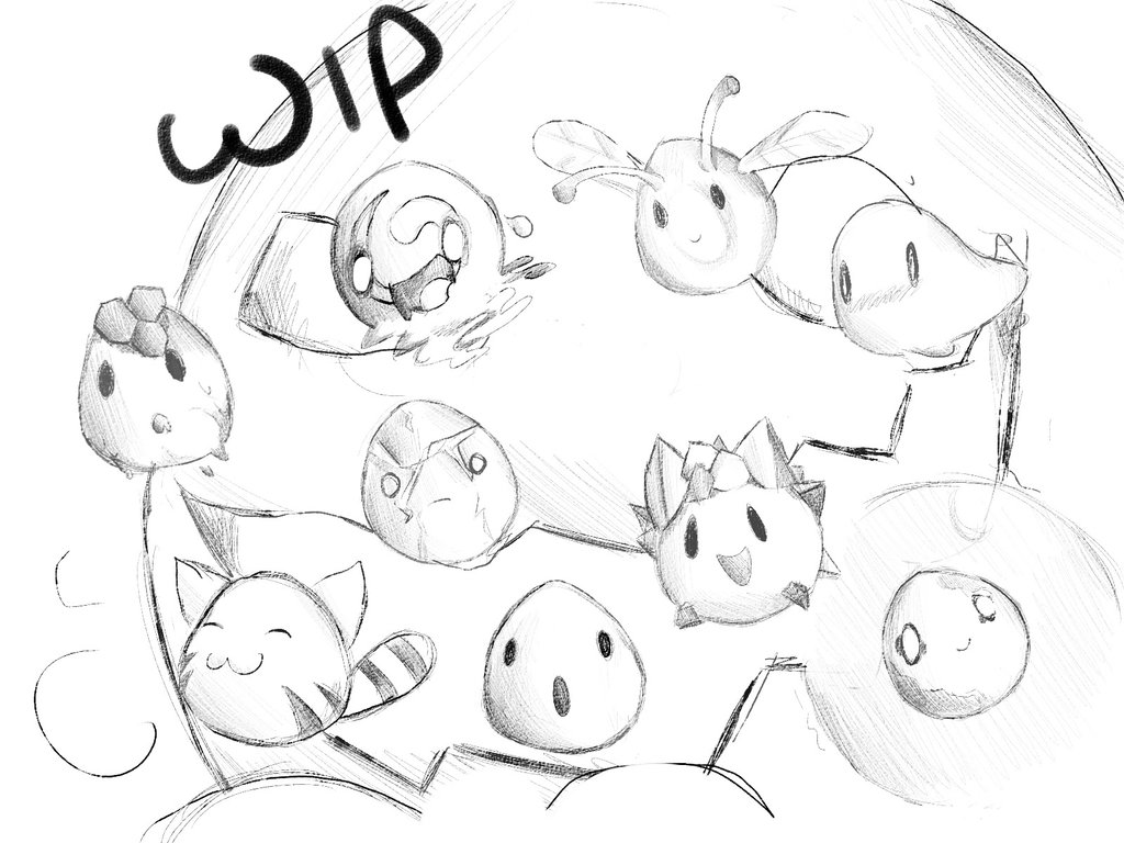 1024x768 Slime Rancher Wip By Cosmixcomix