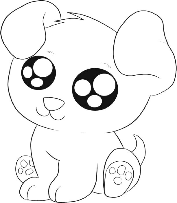 612x701 Cute Puppy Coloring Pages Printable Cute Puppies Coloring Pages