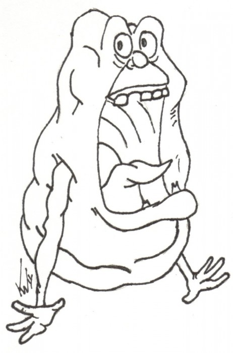 462x700 Ghostbusters Coloring Pages