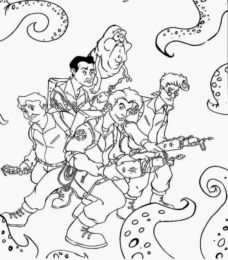 Ghostbusters Coloring Pages - Coloring Home | 1071x942