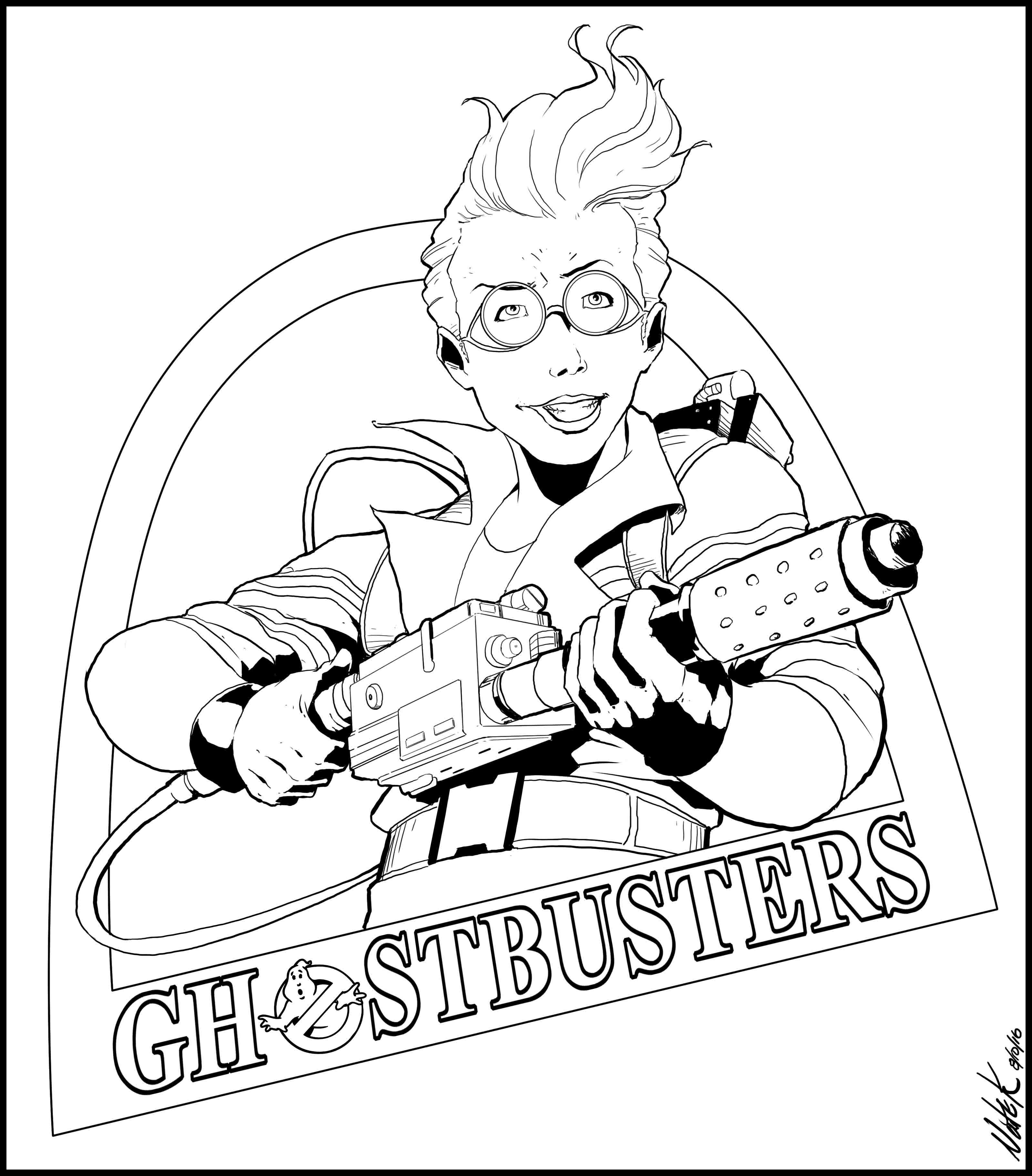 3197x3644 Holtzmann From Ghostbusters 2016
