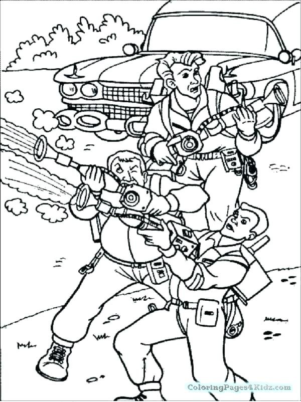 600x802 Real Ghostbusters Coloring Pages Best Images On Accessories Draw