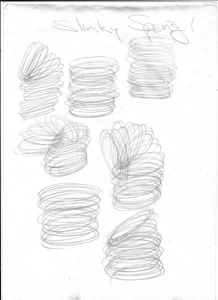 Slinky Drawing