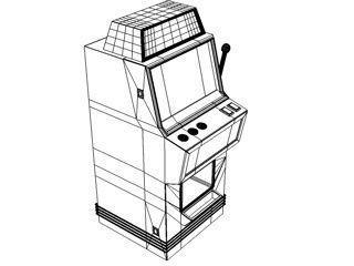 320x240 Interior Slot Machine 3d Model Cgtrader