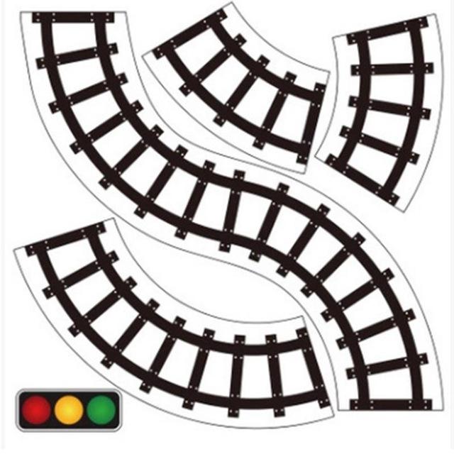 640x640 Diy Paper Road Traffic Adhesive Tape Toy Slot Children Kids Room