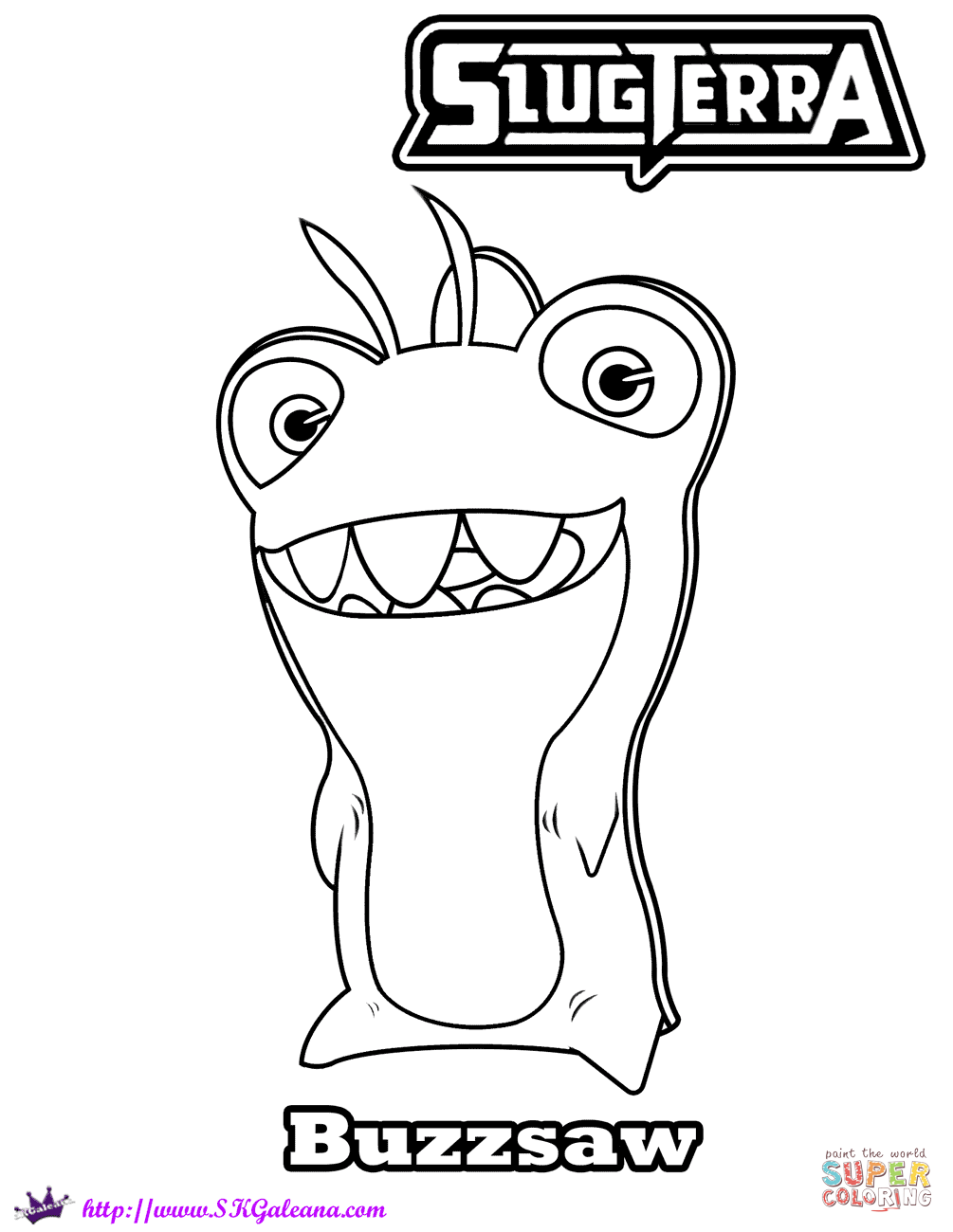 1005x1300 Slugterra Coloring Pages Free