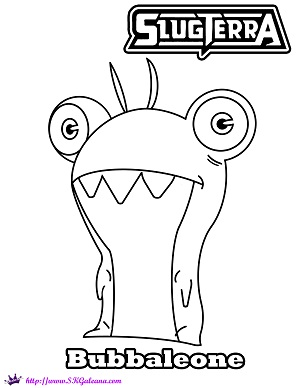 300x388 excellent design ideas slugterra coloring pages printable burpy