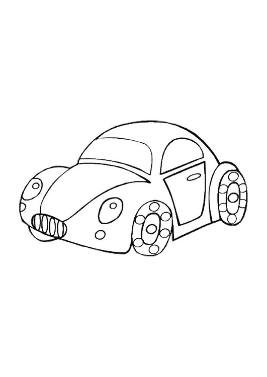 531x750 Coloring Page Toy Car
