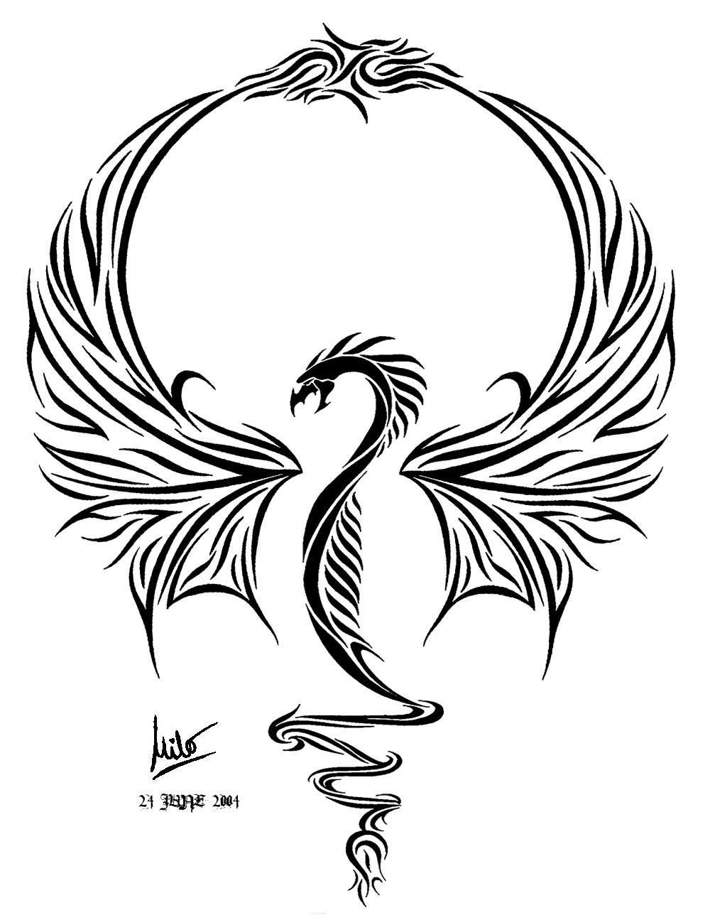 1000x1288 Ultimate Dragon Tattoo By Milo Wildcat