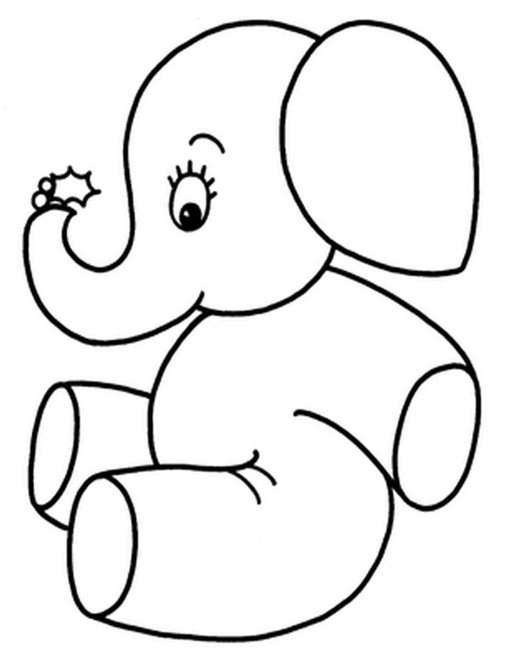 Small Elephant Drawing