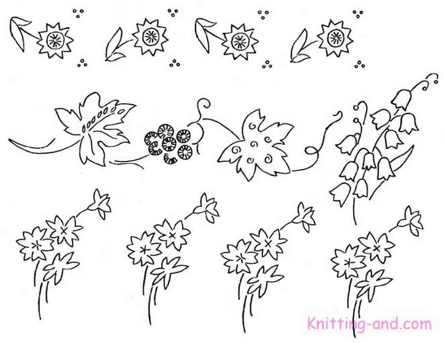 how to draw floral patterns step by step