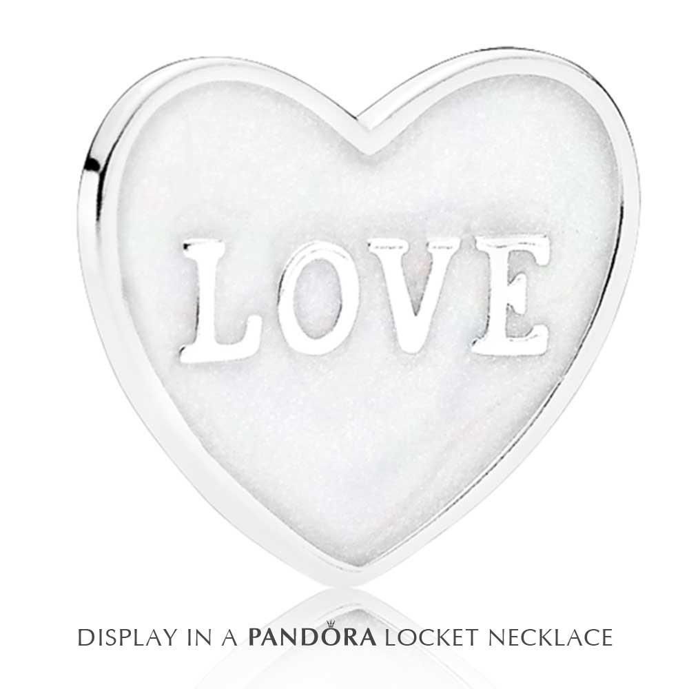 1000x1000 Pandora Petite Memories Small Love Heart Plate Charm 792112en23