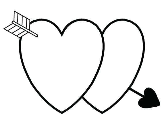 564x451 Valentine Hearts Coloring Pages Small Heart Coloring Pages
