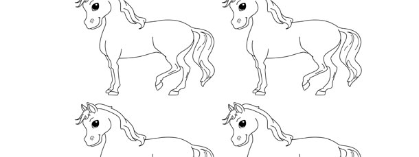 610x229 Horse Template Small