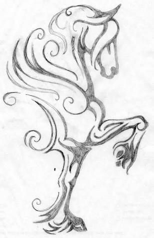 308x477 Image Result For Small Horse Tattoos Palamino Appy