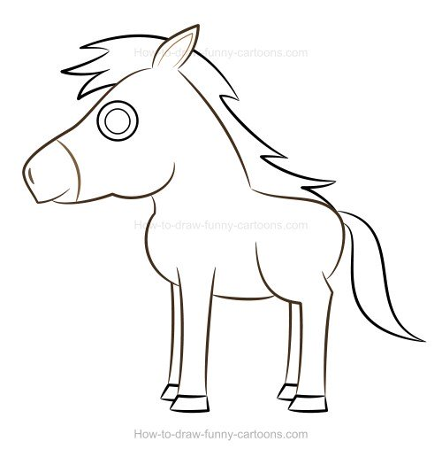 500x516 To Draw A Horse