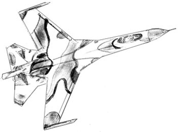 350x259 How To Draw An Airplane