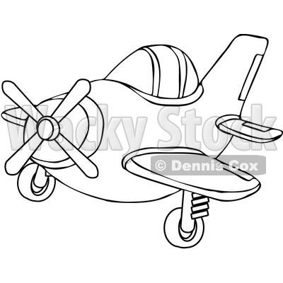 400x400 Small Plane Clipart