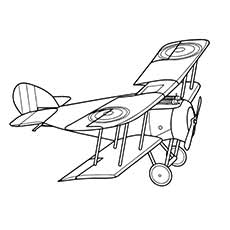 230x230 Top 35 Airplane Coloring Pages Your Toddler Will Love