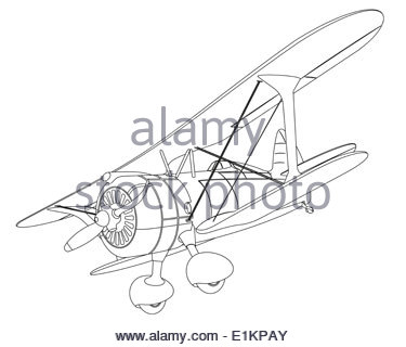 375x320 Black Silhouette Of A Small Airplane Model On Airport In Kids