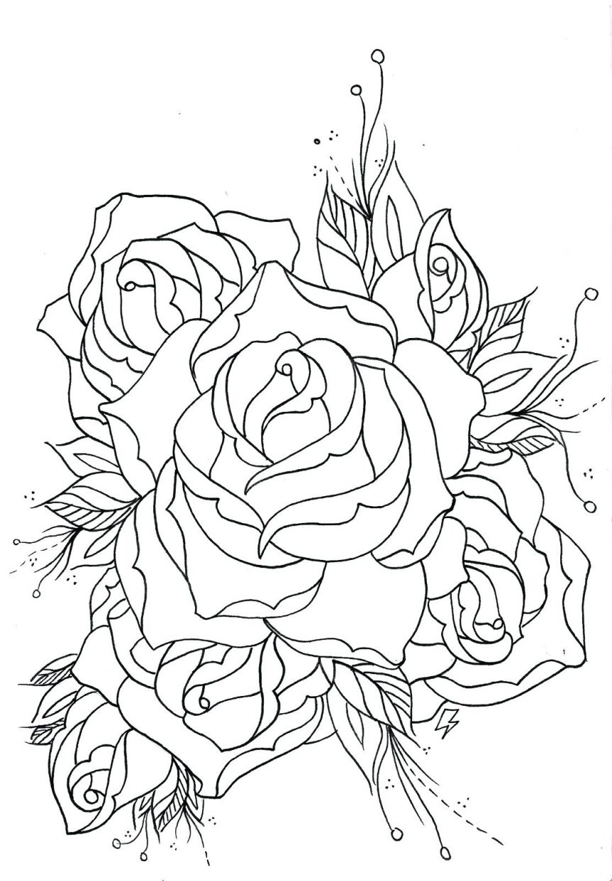 863x1243 Results To Do Memorial Rose On Leg Outline Tattoo Lotus Flower
