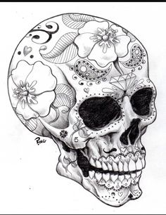 236x306 I'D Get A Sugar Skull In Place Of The Regular Skull. Awesome None