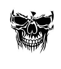 200x225 Skull Decal Ebay