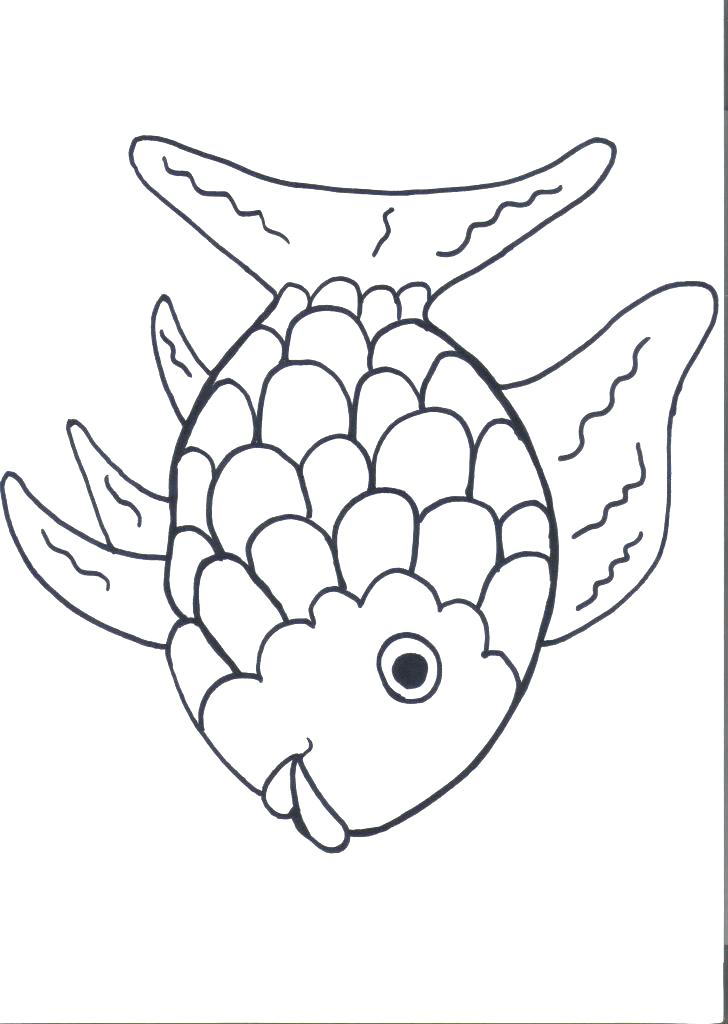 728x1024 Small Fish Coloring Pages Star Fish Coloring Page Printable