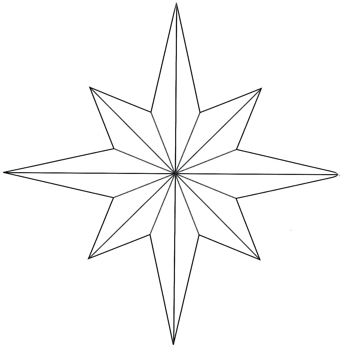 1392x1427 Printable Small American Flag Star Stencil Printable