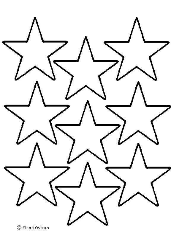 576x792 Best Photos Of Small Star Cut Out Template