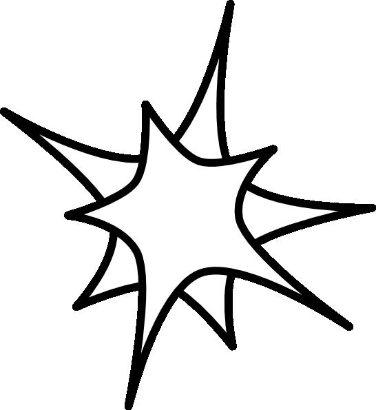 546x595 Double Star Clip Art